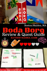 #BodaBorg #Quest #Review Fun Indoor Activity exclusively only location in North American brought to us by Sweden! Escape Rooms meets mind and physical challenges.