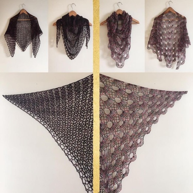 Hello Goodbye Shawl