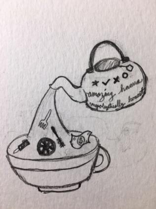 Tea pot and cup!