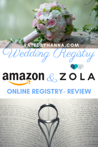 #Wedding #Amazon #Zola #WeddingRegistry Reviews on popular online wedding registry options I've used for my wedding.