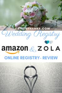 #Wedding #Amazon #Zola #WeddingRegistry Reviews on popular online wedding registry options I've used for my wedding.