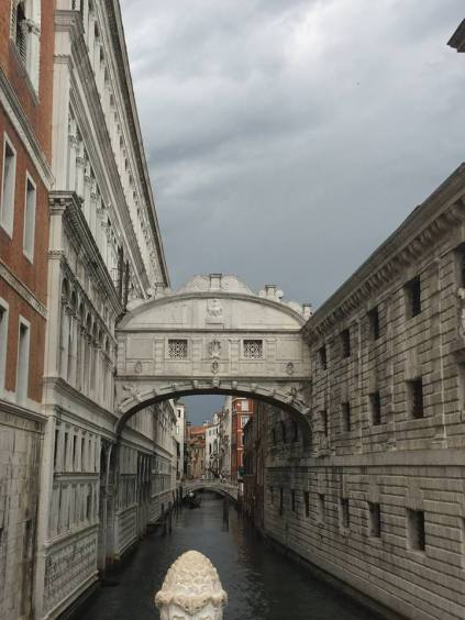 Exterior View of Bridge of Sighs