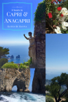 Capri what to do besides visiting the Blue Grotto! Monte Solaro, luxury shopping, boat tour, rock formations