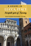 Incognito hidden gem of Tuscany Lucca