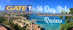 Gate 1 Travel 14 Day Italy Trip Review Tuscany, Amalfi, Venice, Rome