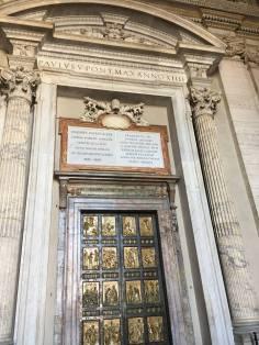 Elaborate doors