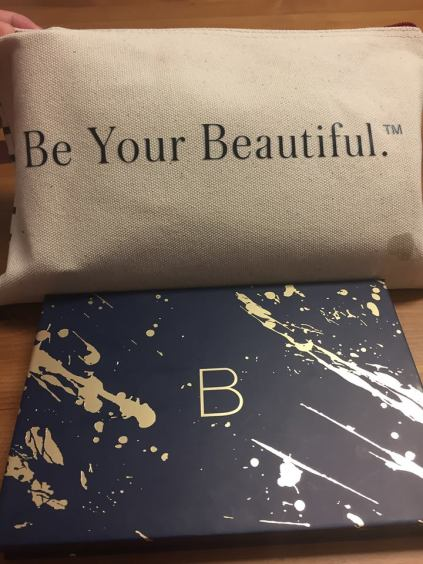 "Beauty Counter Sample Bag ""Be Your Beautiful."" and Ultimate Nude Eyeshadow Palette"