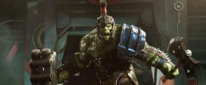 Thor rangarok hulk
