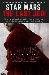 #Movie #Review #StarWars #Sci-Fi The Last Jedi First Impression