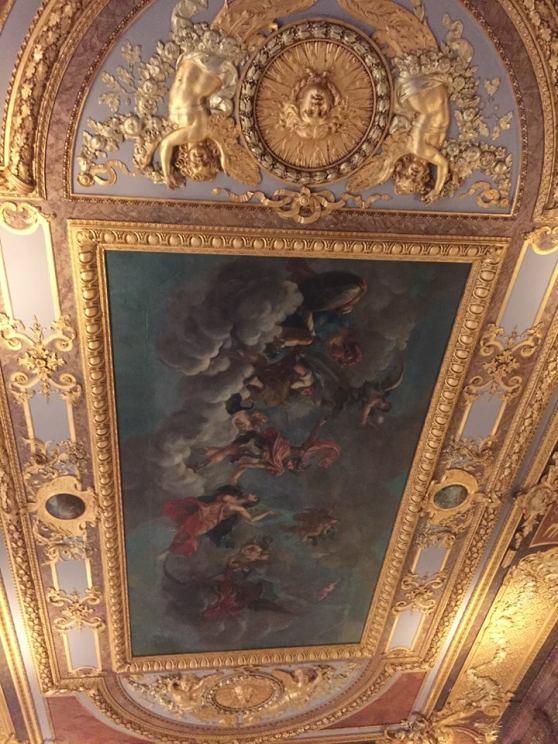 I'm a fan of ceiling art.