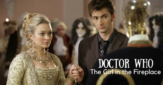 """Doctor Who """"The Girl in the Fireplace"""" cover"""