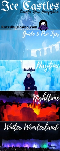 #IceCastles #Review #TravelGuide #TravelTips #NewHampshire #Winter Activities in New England