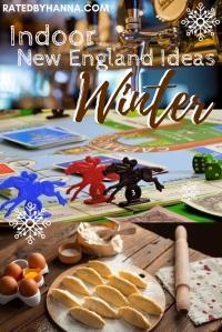 #IndoorActivities #NewEngland #Winter Ideas, Brewery, Vermont, Massachusetts, Connecticut, Rhode Island, New Hampshire, Maine