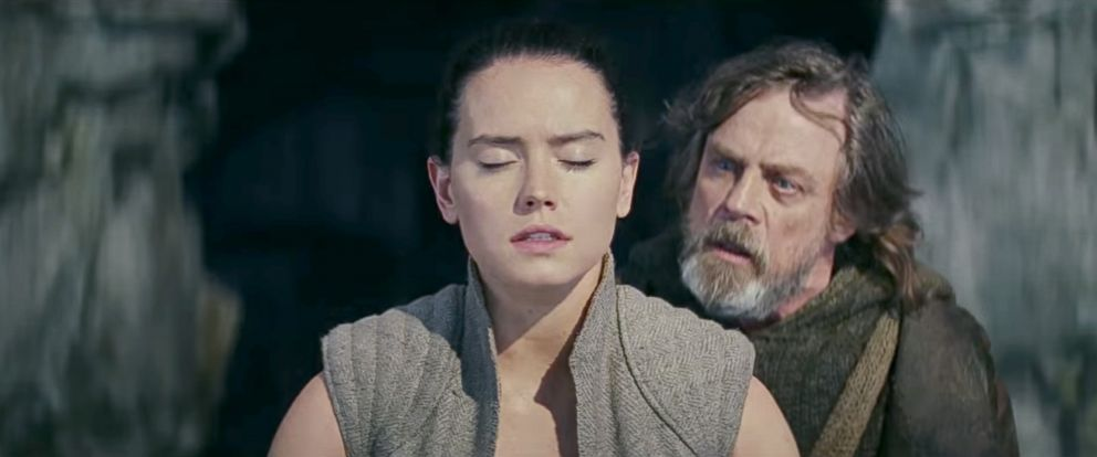 star wars luke and rey