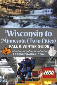 #Wisconsin #Minnesota #TwinCities Guide and Overview to spending time in the Midwest during the Fall and Winter!