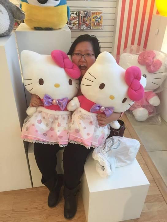 Twin Hello Kitties