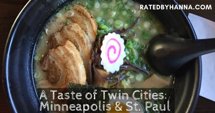 A taste of the twin cities: Minneapolis and St. Paul
