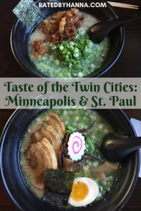 Minnesota Twin Cities Guide Ichiddo Ramen, Mall of America, Minnesot-ah! #Minnesota #Minneapolis #StPaul #FoodGuide